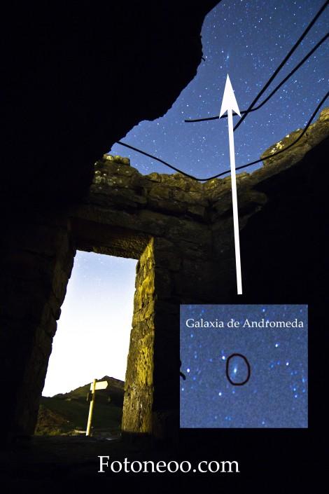 Galaxia de Andromeda en Torre