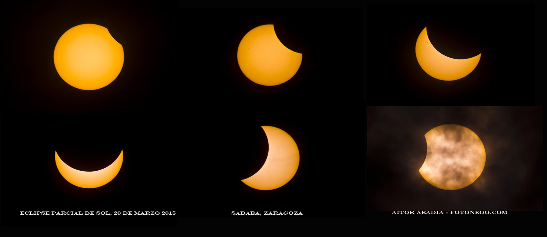 Evolucion Eclipse Solar 20 De Marzo 2015 El Poder De La