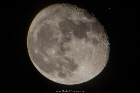 Aldebaran y Luna