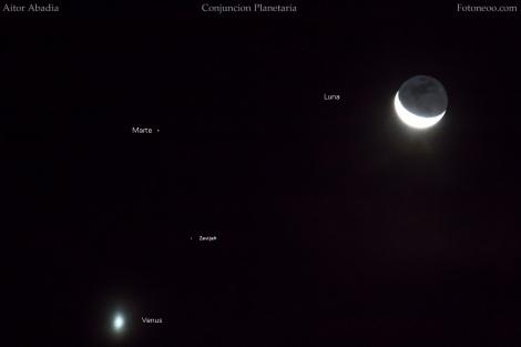 Conjuncion planetaria 2